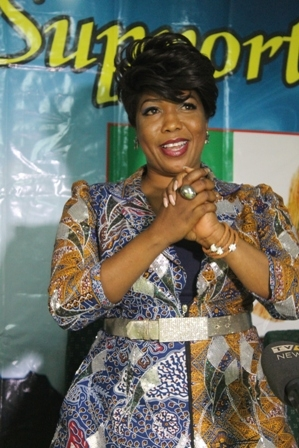 Kate Henshaw, KSB, others get COSON endorsement for 2015 elections