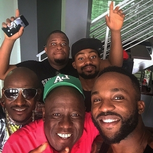 Kenny Ogungbe shares pictures from Iyanya's house warming