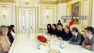 Kim And Khloe Meet Armenian Prime Minister