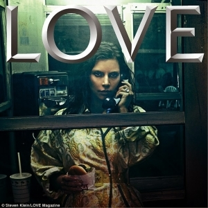 Kim Kardashian Dazzles For Edgy Love Magazine
