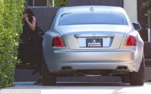 Kim Kardashian Got Herself A Rolls Royce Luxury Car Worth $400K