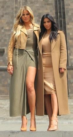 Kim & Khloe