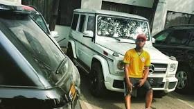 King Baddo: Olamide Buys Himself a G-wagon as Xmas Gift + Davido Ask For A Race Contest (Photo)