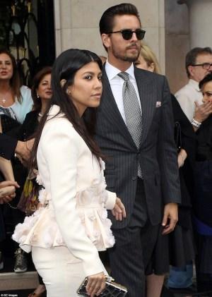 Kourtney Kardashian bans Scott Disick from their home