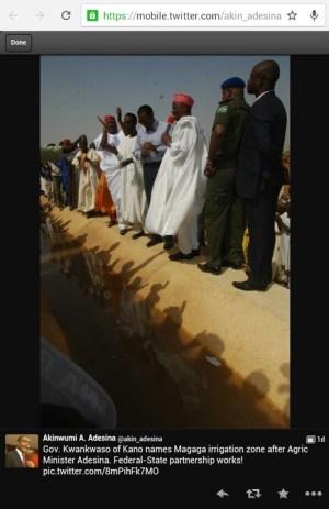 Kwankwaso Names A Major Project After PDP Minister, Adesina