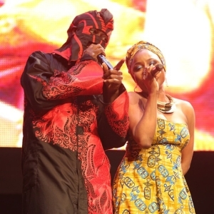 Lagbaja And Ego Thrill Crowd As They Reunite On Stage – Photos