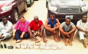 Lebanese Woman, Others Use EFCC Vests For Robbery