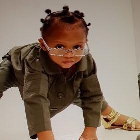 Lola Omotayo Shares Adorable Photo Of Baby Aliona