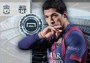 Luis Suarez tops Goal Transfer List 2014