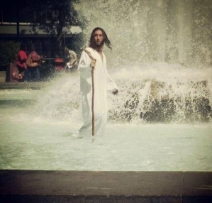 Man Claiming Jesus Was Arrested For Walking Ontop Water (See Photos)
