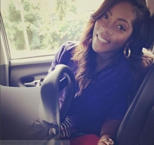Mavins Baby, Tiwa Savage, Returns To Nigeria After Child Birth