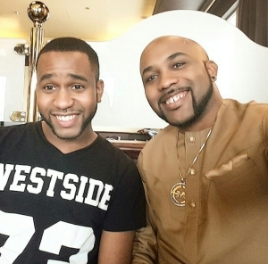Meet Banky W's Handsome Younger Brother Funmi Wellington