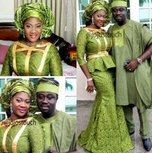 Mercy Johnson And Husband Looking Lovely At Their Son