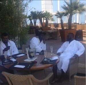 Money Speaking!! Warri Billionaire Ayiri Emami Splashes N1.5million On Breakfast (See Photos)