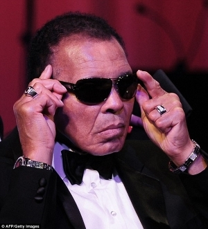 Muhammad Ali released from hospital for 73rd birthday celebration