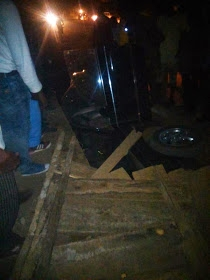 New Year Accident… How Did This Happen? (Photos)