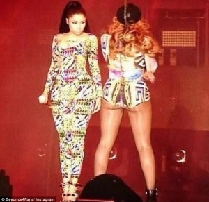 Nicki Minaj Says She Dreamt of Performing on Stage With Beyonce & God Heard Her