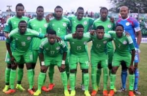 Nigeria slump to  37th in Fifa ranking