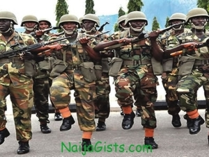 Nigerian Army 72 Regular Recruit Intake For2014/2015 Out.