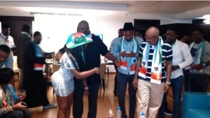 Nigerian Celebrities Step Out To Support Buhari | Photos