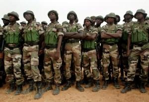 Nigerian Military Reclaim Bama