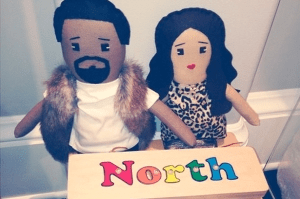 North West's Has Toys In The Exact Replica Of Her Parents-See Her Kimye Toys
