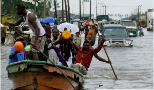 OMG!! See Photos From The Flood In Lagos Today
