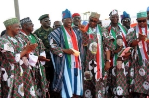 OMG!! Some Of The Things Patience Jonathan Allegedly Said At PDP Rally In Rivers Yesterday (lolzz)