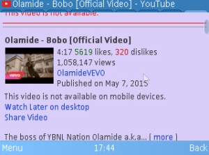 O Bobo!! Olamide's Shakiti Bobo Video Hits 1million View On Youtube Within 2 Months