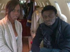Obafemi Martins' baby mama sends him loving message for 30th birthday