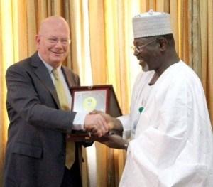 Obama Awards 'Certificate Of Commendation' To Jega