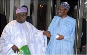 Obasanjo Hands Over Report On Strategic Development Plan To Buhari