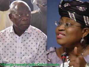 Okonjo-Iweala Replies Oshiomhole, Buhari