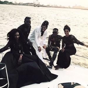 Olamide, Phyno & Patoranking Go Boat Cruising In New Video shoot