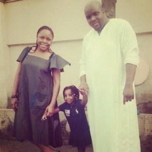 Omawumi Weds Her Baby Daddy Secretly