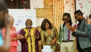 Omotola Jalade Ekeinde Enjoys Dinner With Friends As She Celebrates Her 20th Year Acting Career Anniversary – PHOTOS
