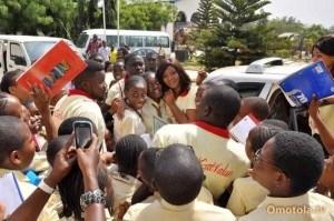 Omotola Launches #igatvalue At Stella Marris Abuja