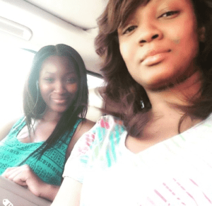 Omotola Takes Selfie With Her Second Daughter, Mimi Ekeinde