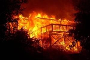 Otukpo Main Market On Fire