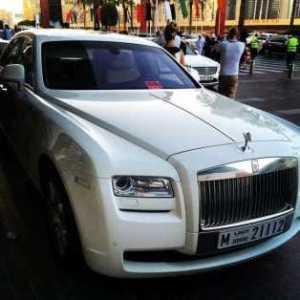 P Square Hires Rolls Royce Phantom to Cruise Dubai
