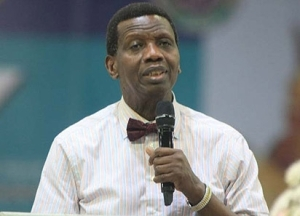 Pastor Adeboye Changes Facebook Profile Picture To Jonathan, Cover Photo To Osinbajo