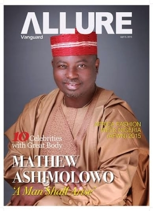 Pastor Ashimolowo shines on the cover of Vanguard Allure ...