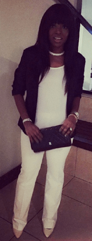 Peep At Actress Annie Idibia