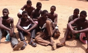 Photo: 14 JSS Students Arrested For Cultism In Edo State