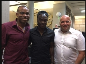 Photo: Coach Sunday Oliseh Meets With Victor Moses In London