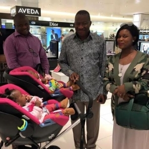 Photo: Former president Jonathan Spotted At London Airport