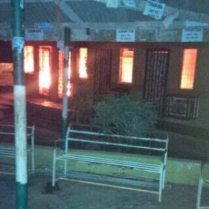 Photo: Micro Biology department at Ambrose Alli Uni gutted by fire