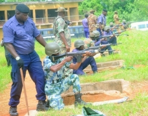 Photo: Nigerian Navy Being Trained On How To Shoot