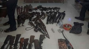 Photo: Notorious Benue Militant Leader Surrenders 84 Rifles To Government
