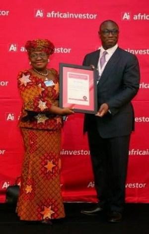 Photo: Okonjo-Iweala named African Finance Minister of the Year